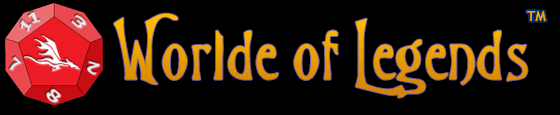 Worlde of Legends™ Tabletop Fantasy Role-Playing Game