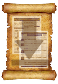 Worlde of Legends™ Lite Fillable PDF Adventurer Record Sheet Download