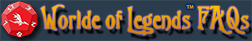 Worlde of Legends d12 FAQ Logo
